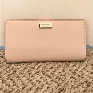 Light Pink Wallet, Kate Spade